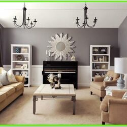 Formal Living Room Ideas With Piano