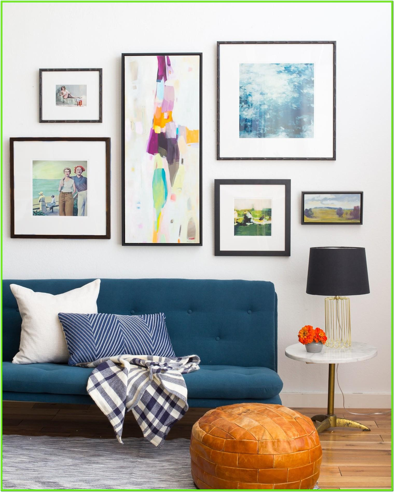 Framing Pictures Ideas Living Room
