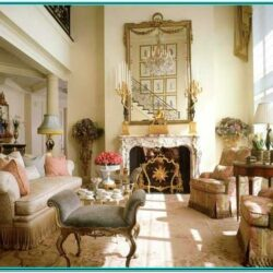 French Chic Living Room Ideas