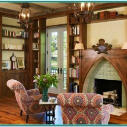 French Cottage Living Room Ideas