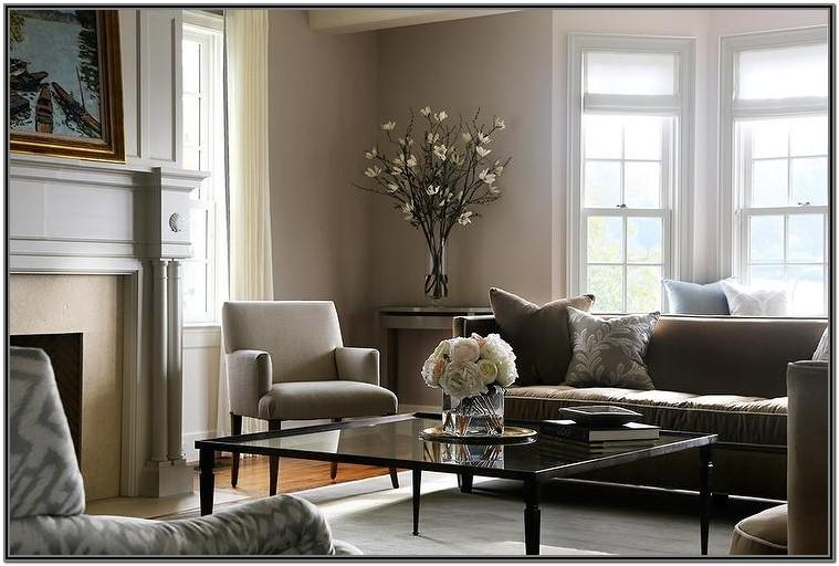 Grey And Bronze Living Room Ideas