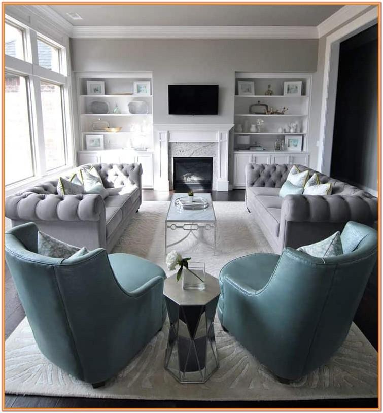 Grey Chesterfield Living Room Ideas