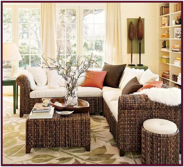 Living Room Bamboo Interior Design Ideas