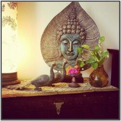 Living Room Buddha Decor Ideas