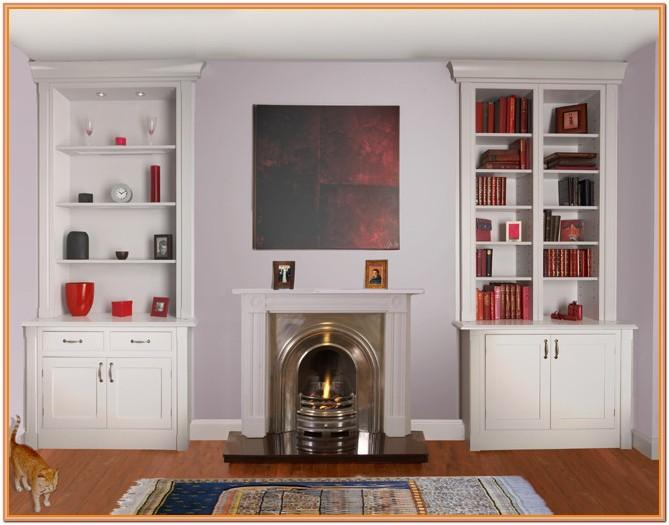 Living Room Chimney Breast Alcove Ideas