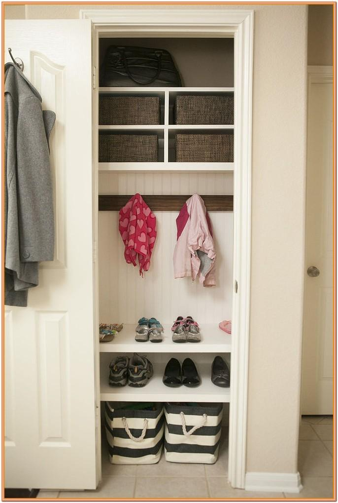 living room coat closet ideas