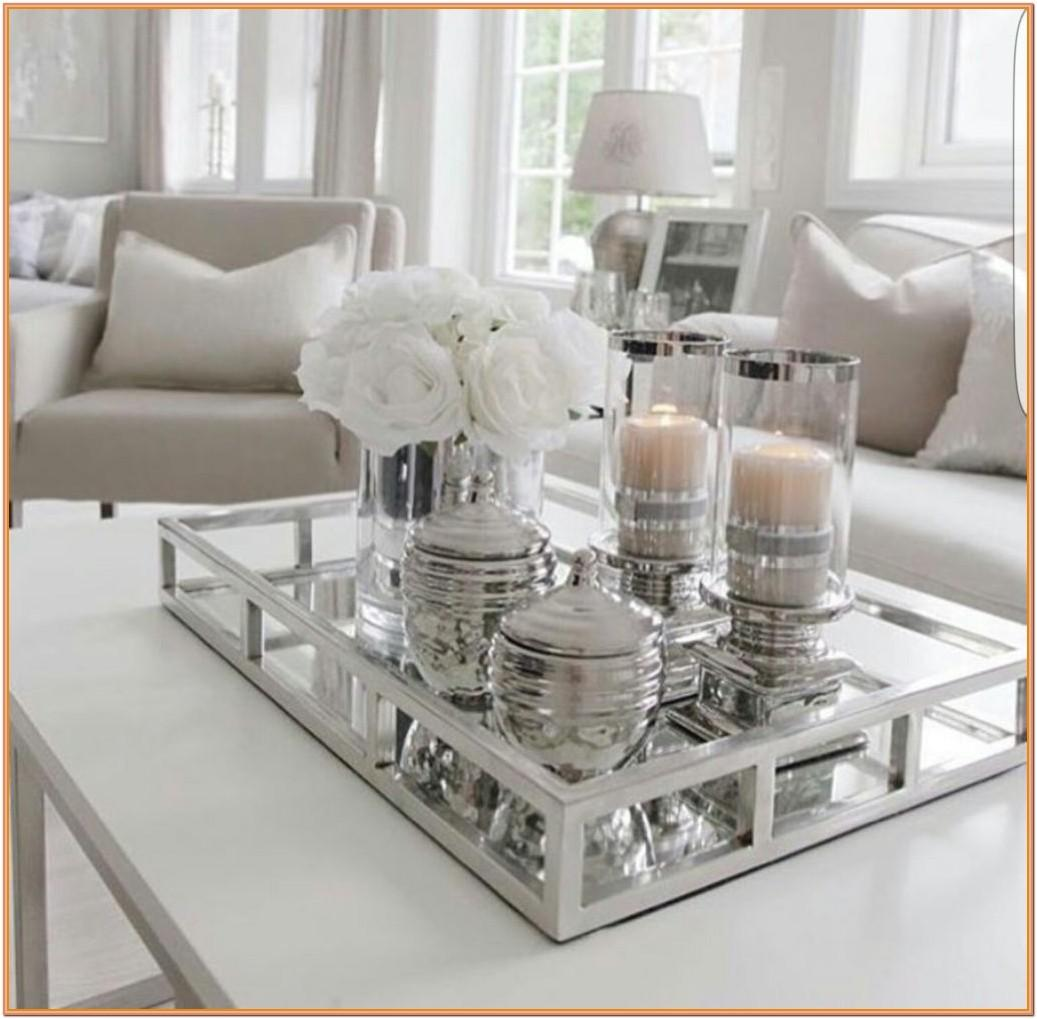 Living Room Coffee Table Centerpiece Ideas