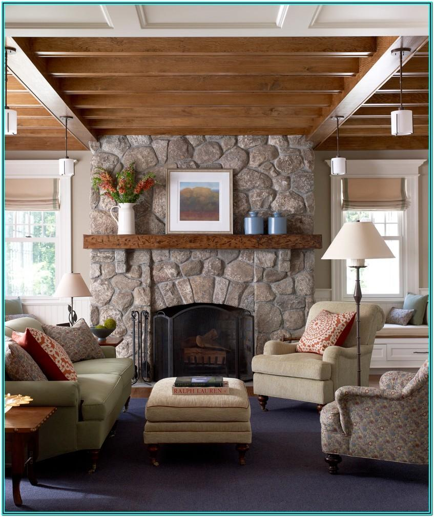 Living Room Country Living Room Fireplace Ideas