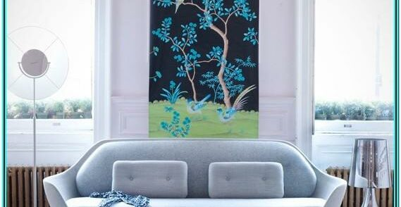 Living Room Creative Wall Art Ideas