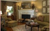Living Room Design Ideas With Corner Fireplace