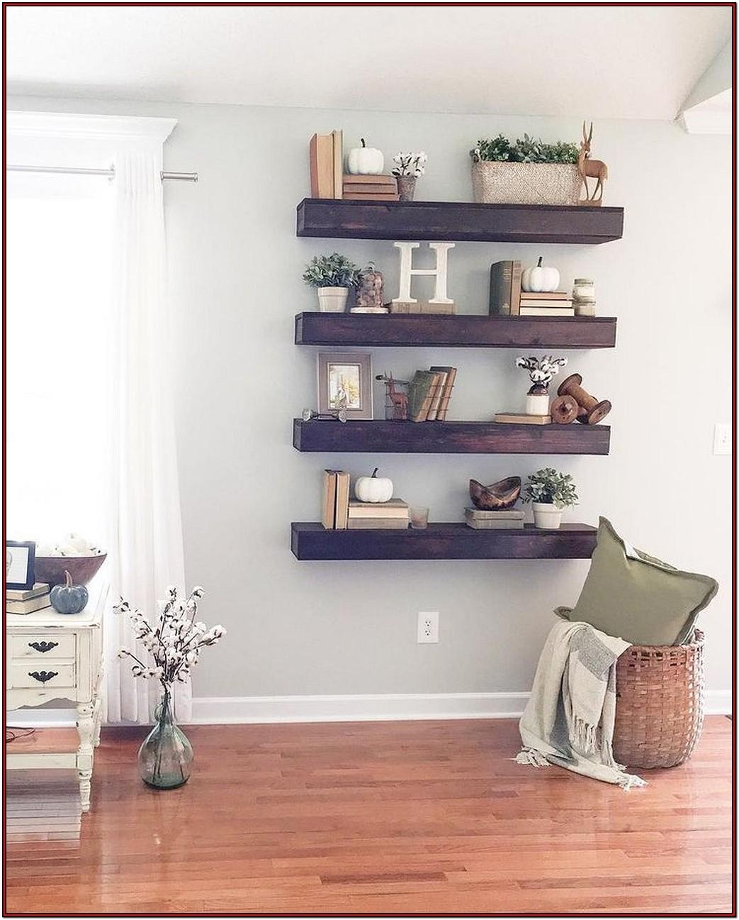 Living Room Diy Shelf Ideas