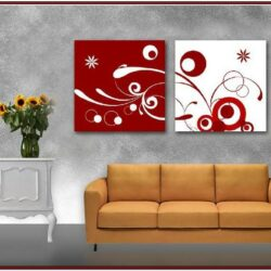 Living Room Easy Canvas Painting Ideas