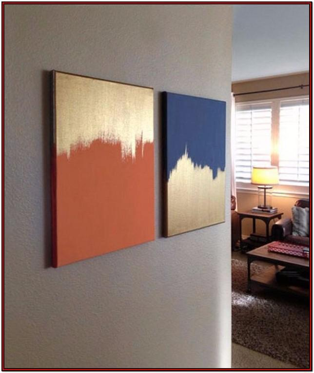 living room easy canvas painting ideas for beginners