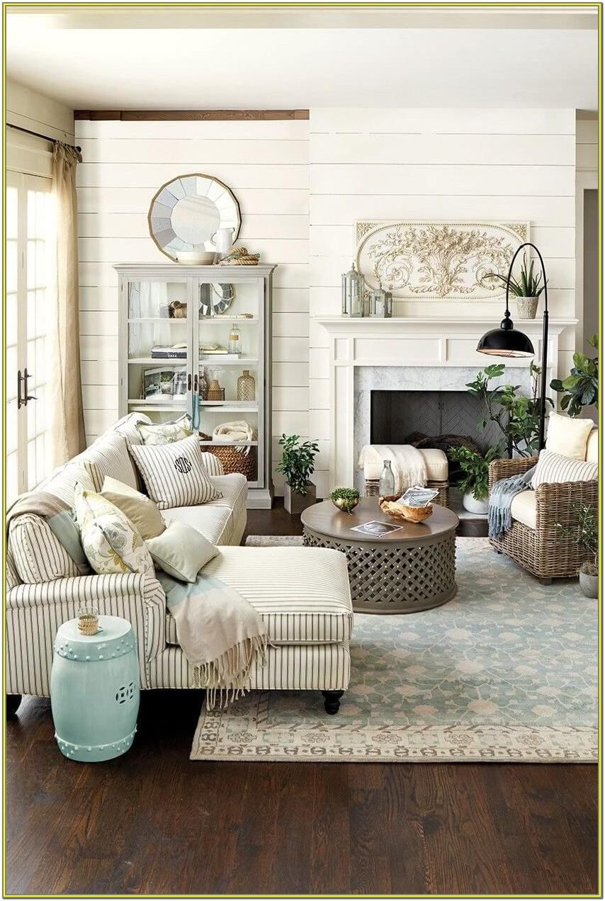 Living Room Farm Style Decorating Ideas