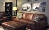 Living Room Ideas Brown Sofa Grey Walls