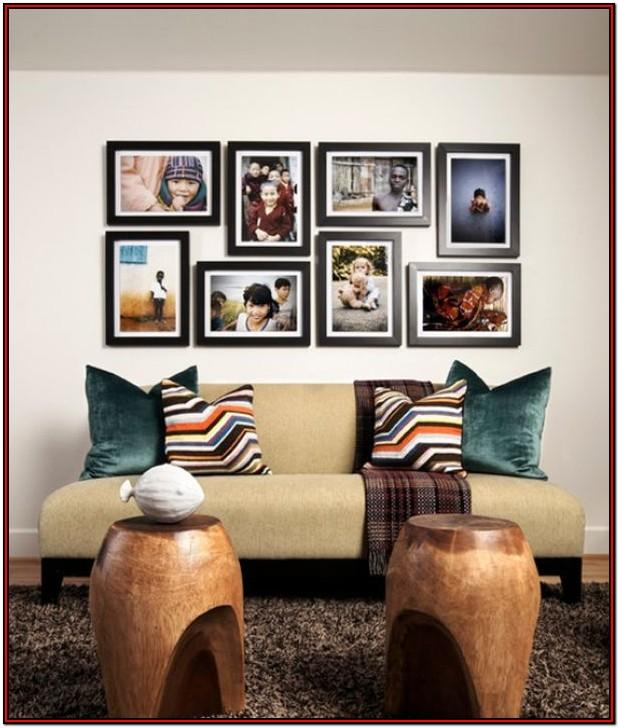 Living Room Wall Display Ideas
