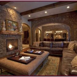 Modern Basement Living Room Ideas