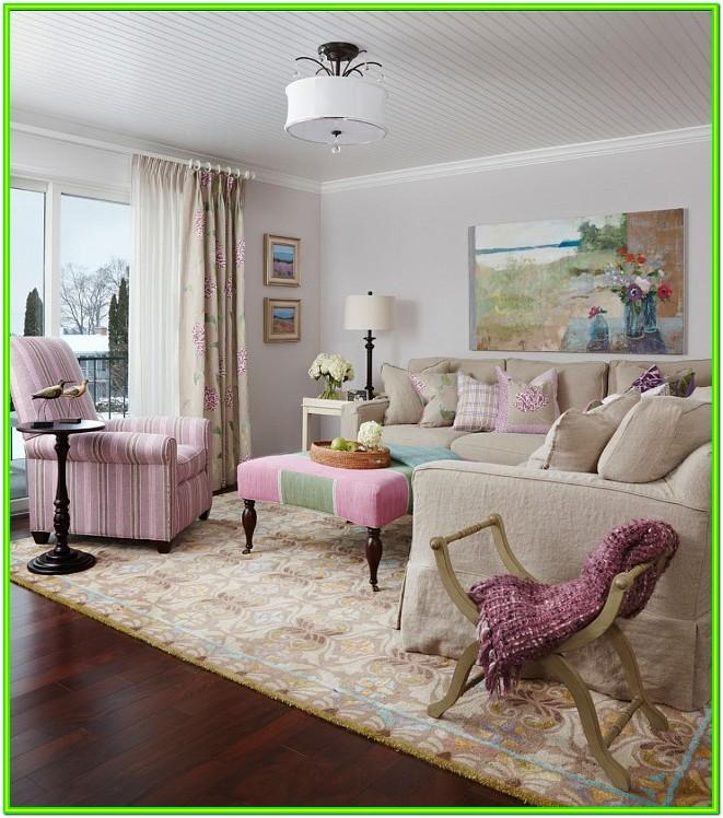 Modern Feminine Living Room Ideas