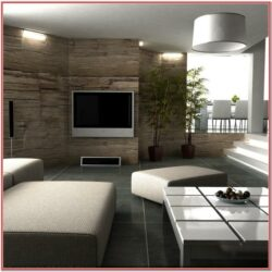 Modern Wall Design Ideas For Living Room