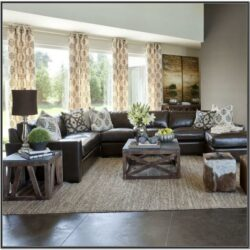 Neutral Living Room Ideas Brown Sofa