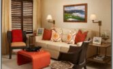 Orange Yellow And Brown Living Room Ideas