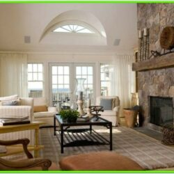 Stone Fireplace Living Room Ideas