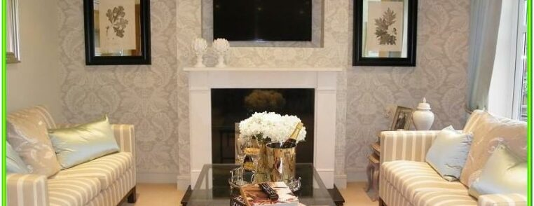 Wallpaper Ideas For Living Room Feature Wall Uk