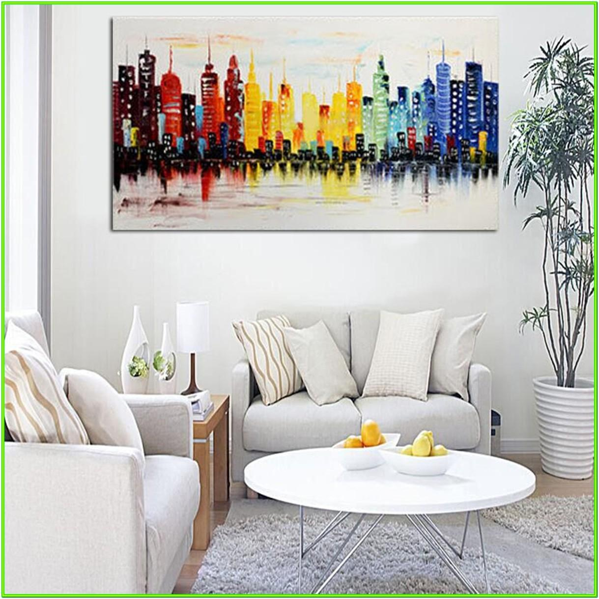 Canvas Living Room Wall Art Ideas