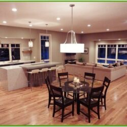 Combined Kitchen Living Room Ideas