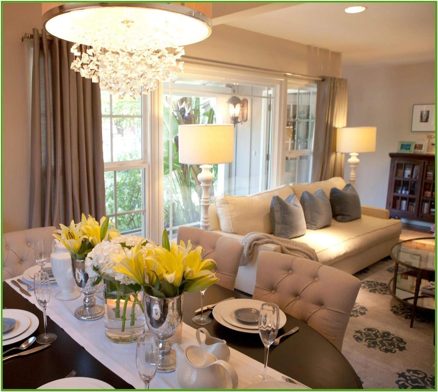 combined living and dining room decorating ideas
