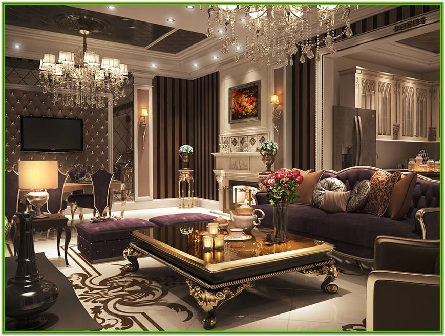 Comfy Luxurious Living Room Ideas