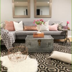 Contemporary Chic Living Room Ideas Scaled