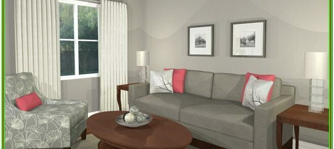 Contemporary Grey And White Living Room Ideas