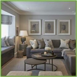 Contemporary Grey Modern Living Room Ideas