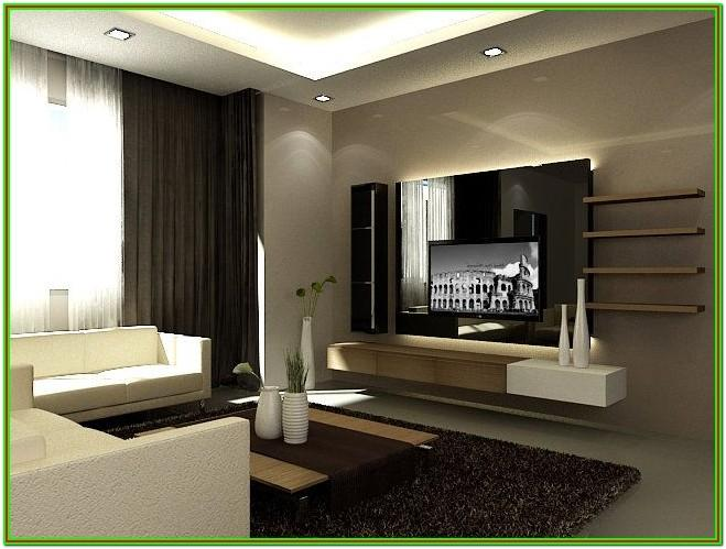 Contemporary Living Room Feature Wall Ideas