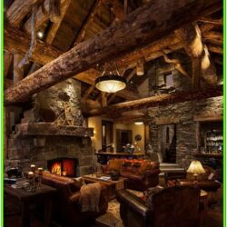 Cozy Cabin Living Room Ideas