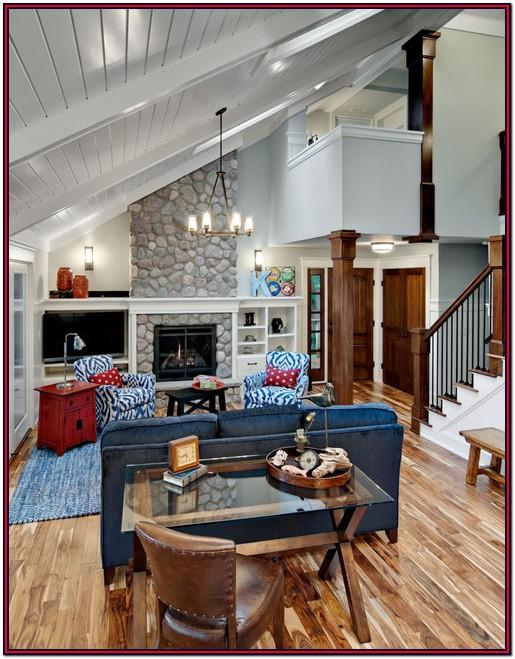 Decorating Ideas For Vaulted Ceiling Living Rooms
