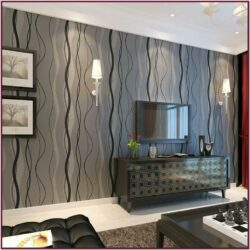 Feature Wall Ideas Living Room Wallpaper