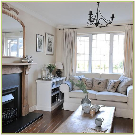 Grey White And Oak Living Room Ideas