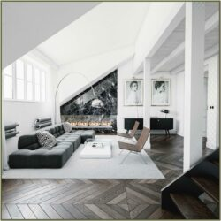 Grey White Black Living Room Ideas