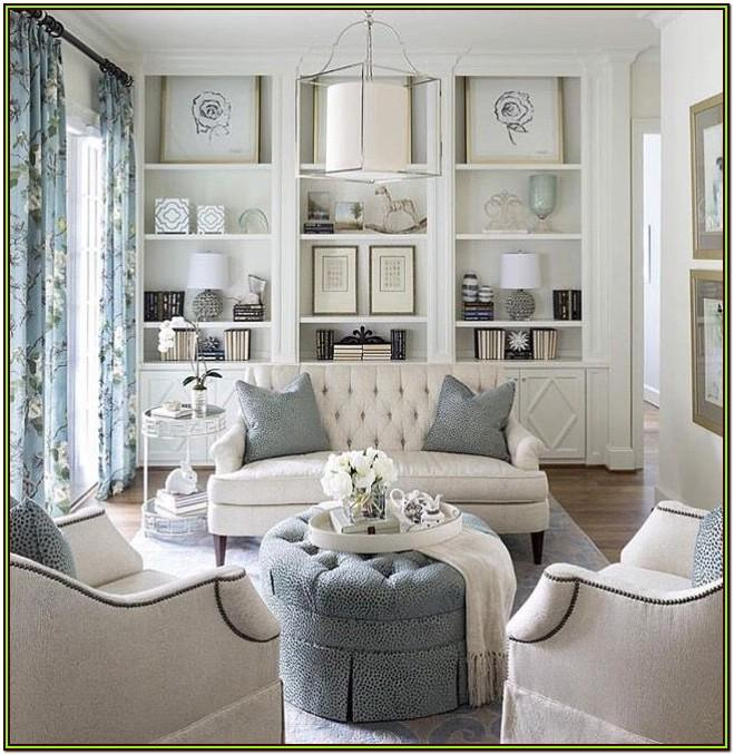 Grey White Ivory Living Room Ideas