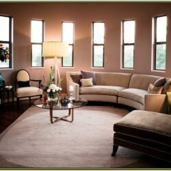 Half Circle Living Room Sectional Ideas