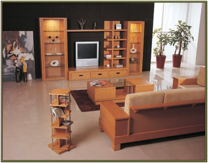 Heavy Wood Furniture Living Room Design Ideas