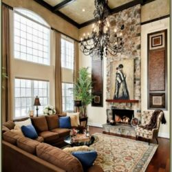 High Ceiling Living Room Lighting Ideas