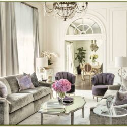 Hollywood Glam Living Room Ideas