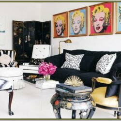 Hollywood Style Living Room Ideas