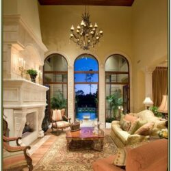 Homey Living Room Ideas Medeterraian Style