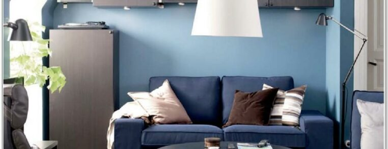 Ikea Blue Living Room Sofa Ideas