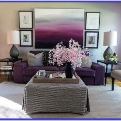 Interior Design Ideas Purple Living Room