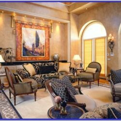 Italian Inspired Living Room Design Ideas